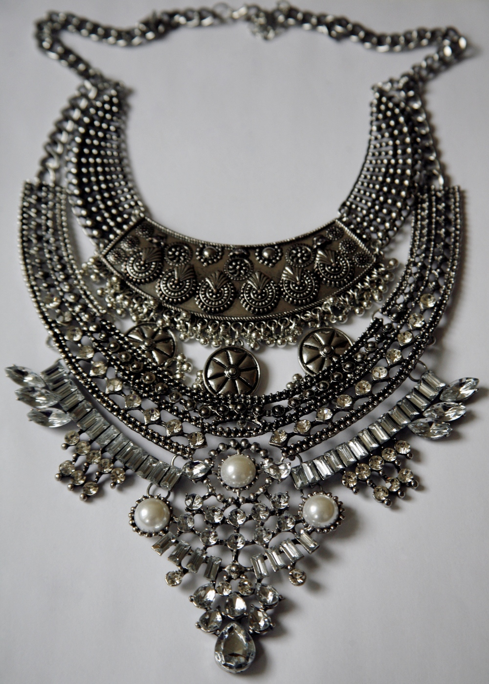 Gorgeous statement necklace from  Mirina Collections .