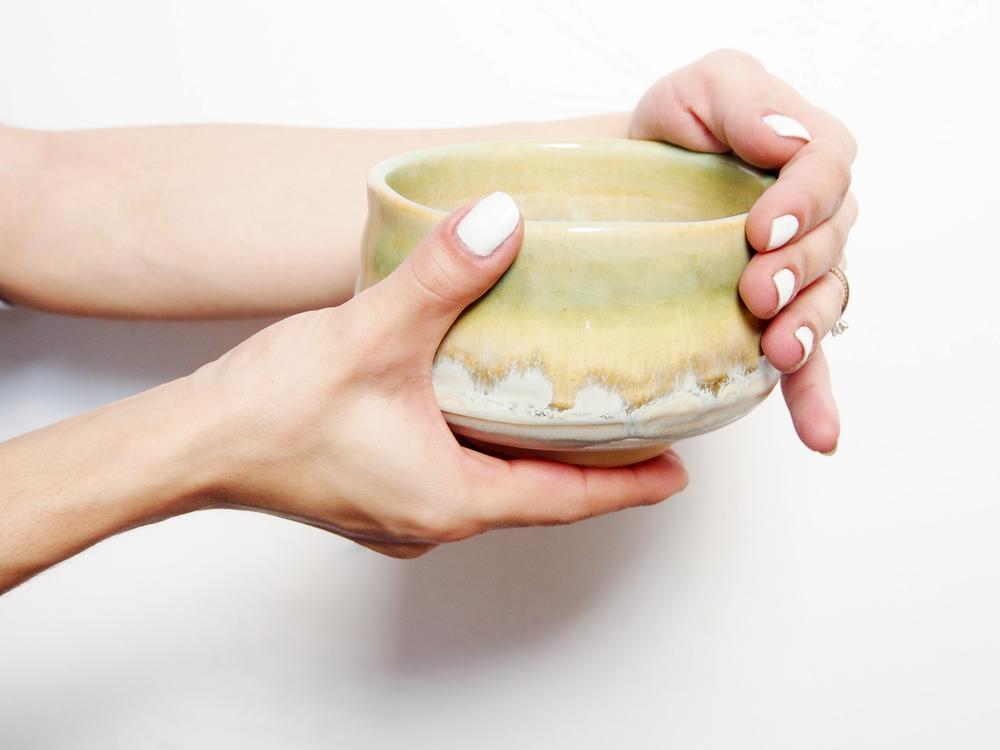 Gorgeous Japanese stoneware Matcha bowl from  Teavana .