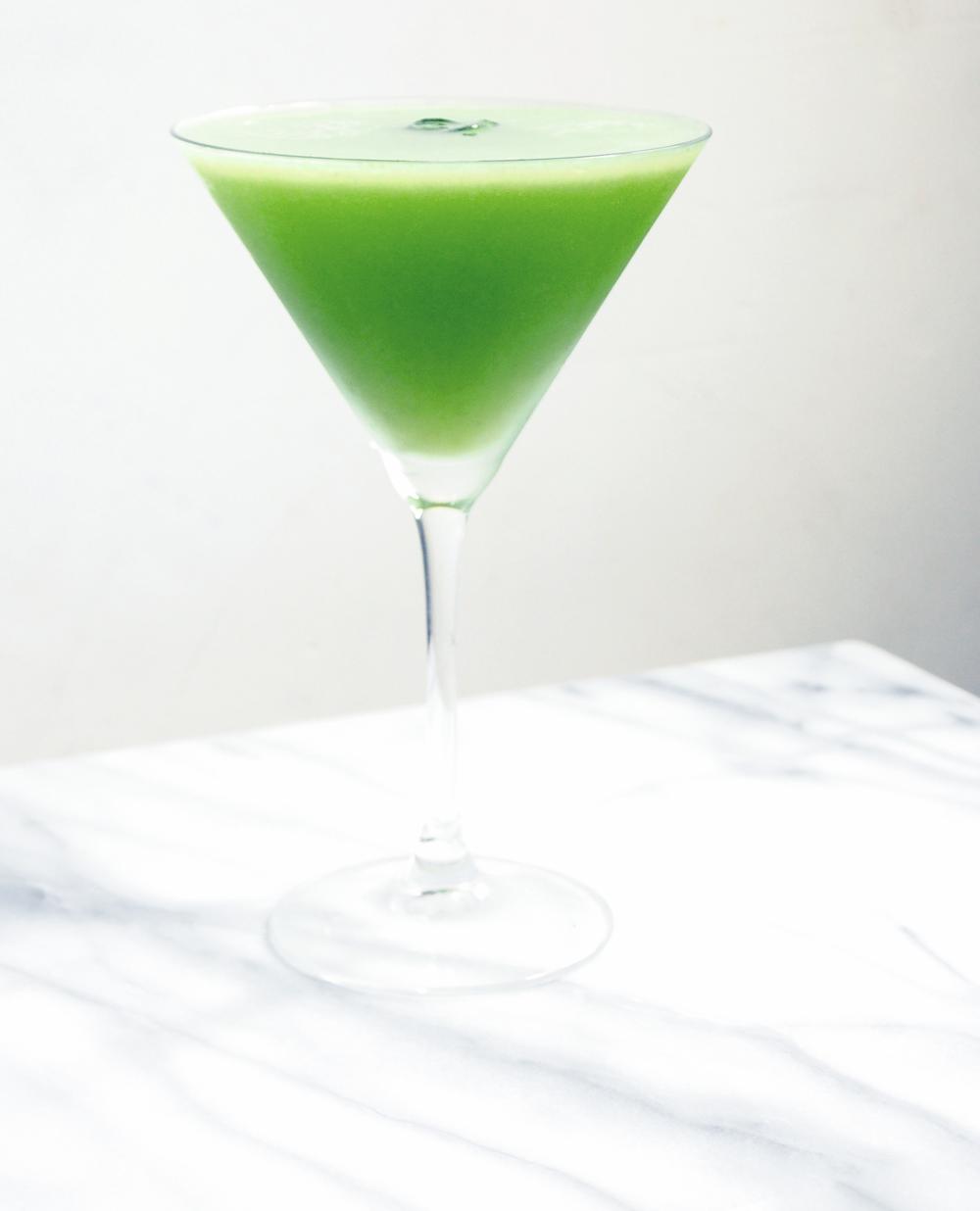 Cocktail recipe + photos by © Suzanne Spiegoski