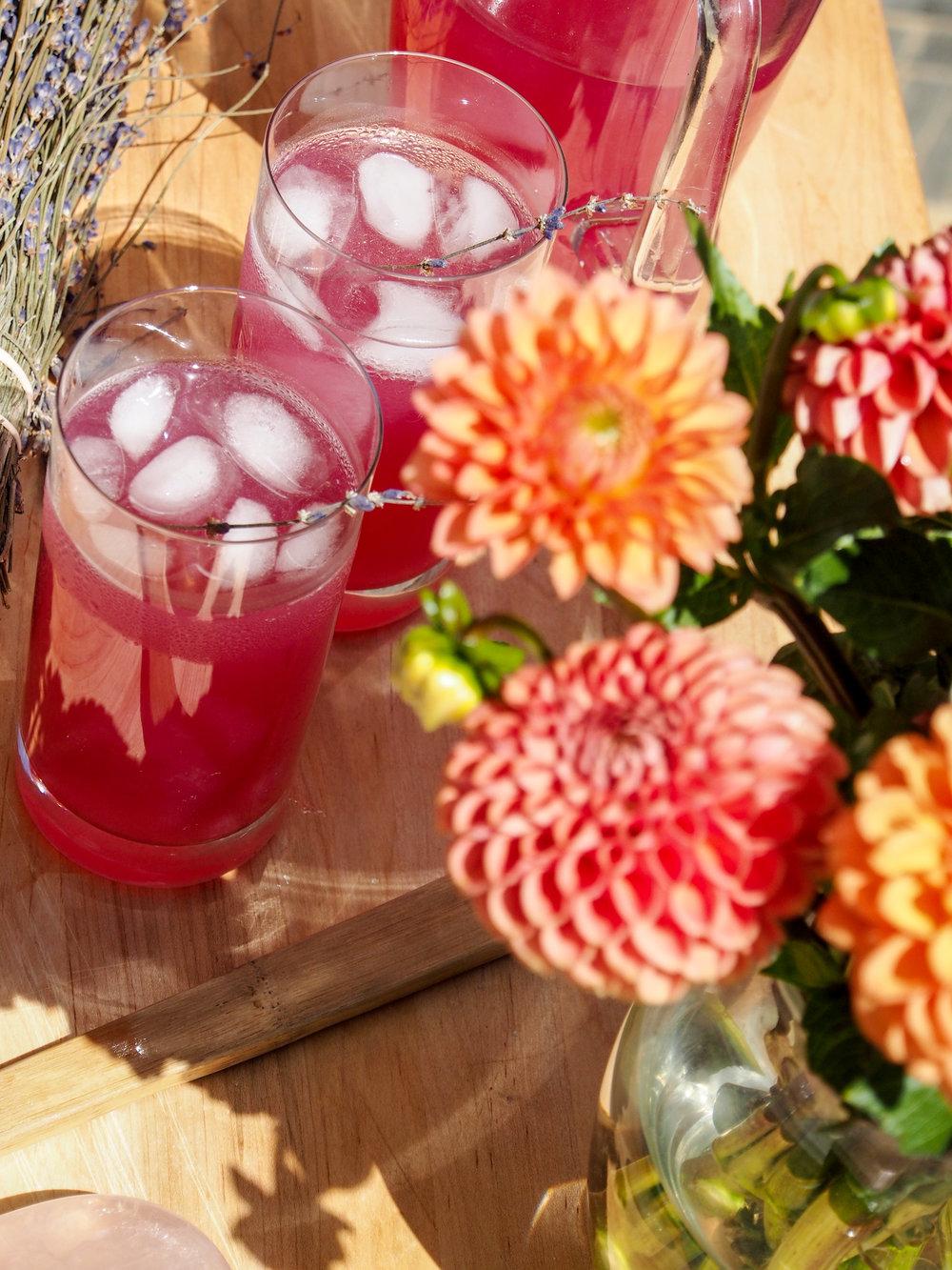 Lavender Soju Lemonade