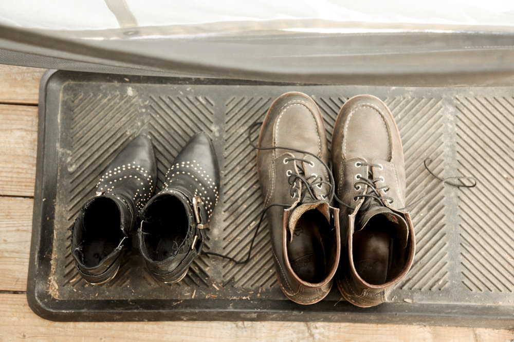 Mud Room Shoe Rack