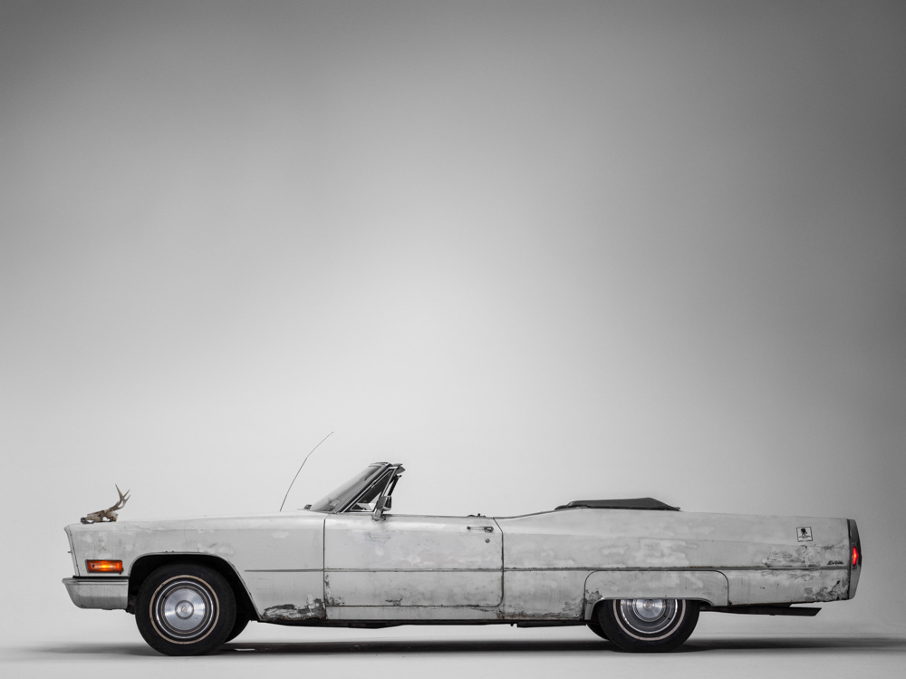 James Gandolfini's Cadillac. (Photograph by  Henry Leutwyler )