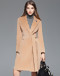 VIP ME CAMEL LAPEL LONG COAT