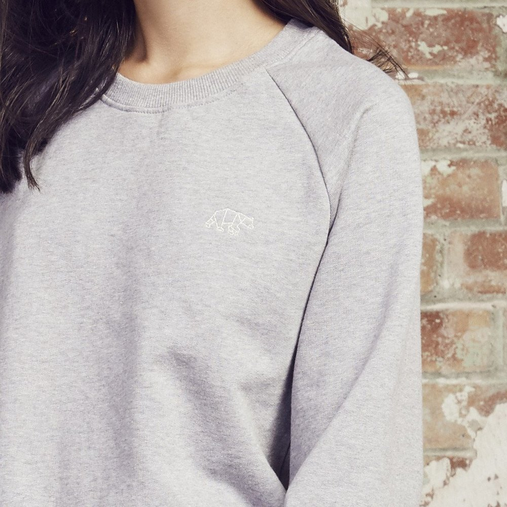 North Polar Bear London Grey Sweater