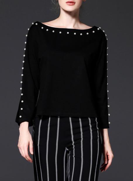 Stylewe H-line Pearl Sweater