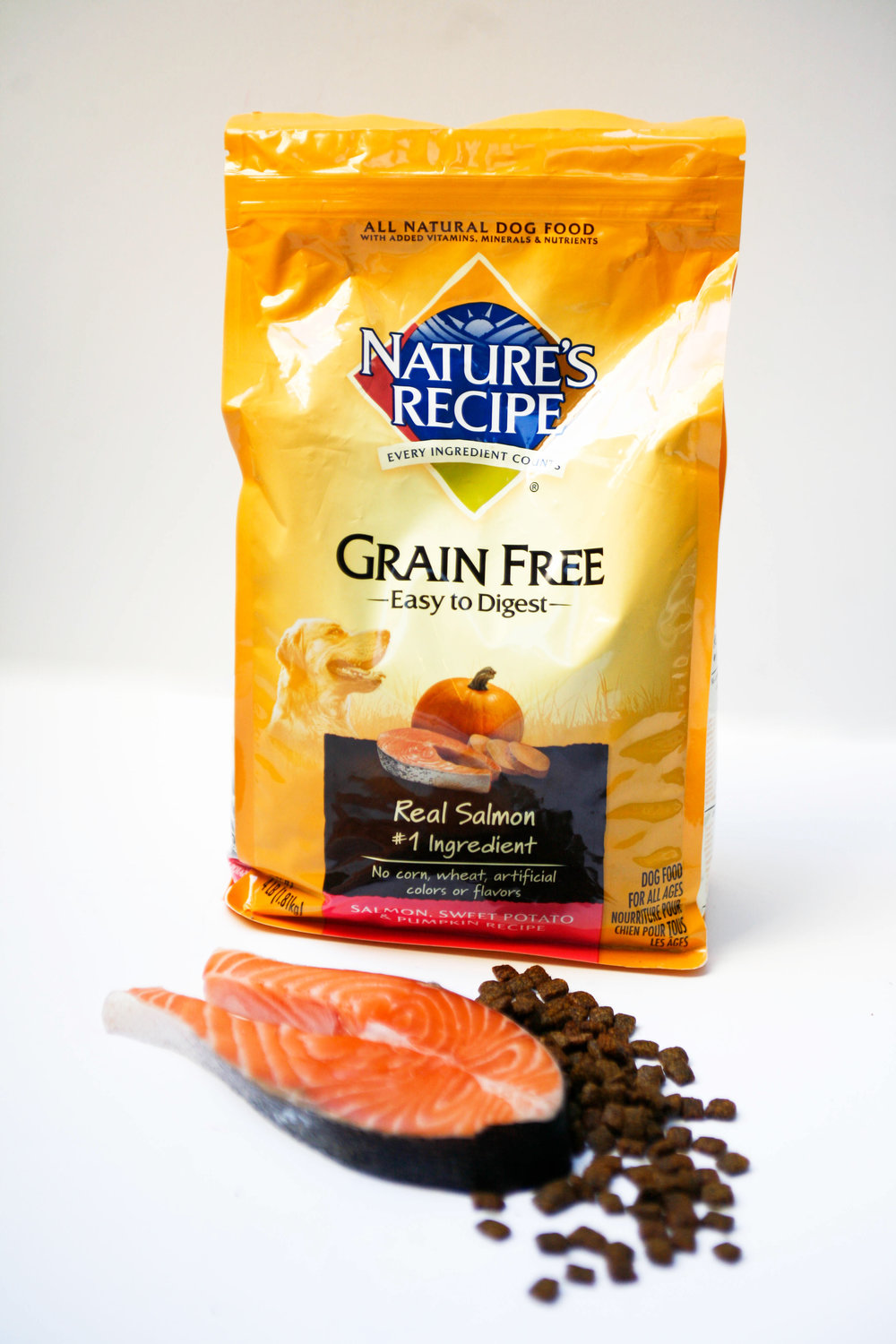 Maqs new fave natures recipe grain free salmon dog food recipe grain free salmon dog food a healthy nutritious easy to digest dry food maq has become completely addicted to look how adoringly patient he forumfinder Gallery