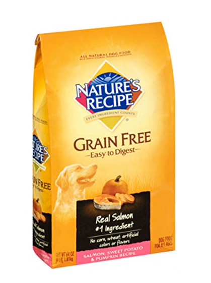 WALMART NATURE'S RECIPE GRAIN FREE SALMON DOG FOOD