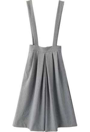 H&M WIDE LEG WITH SUSPENDERS