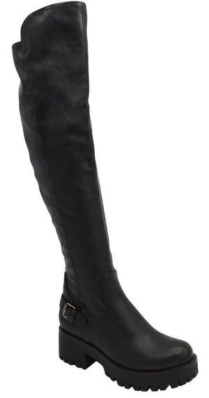 Angelina Shoetique OTK Boots