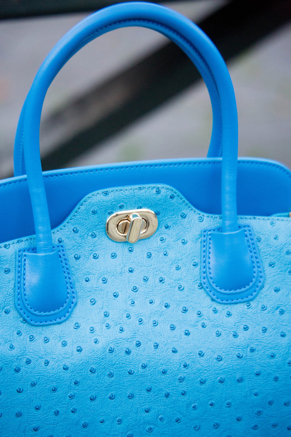 Little E NYC KC Beautiful Day Blue Bag