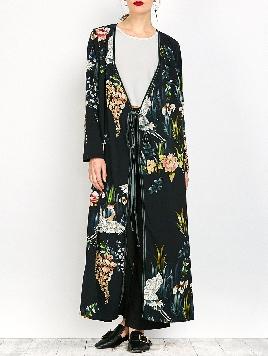 RoseGal Ankle Length Kimono Wrap