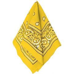Amscan Mustard Yellow Bandana
