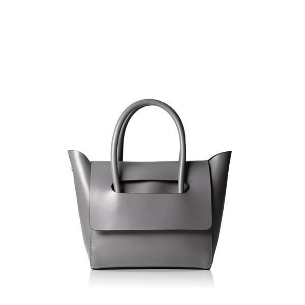 Hieleven Mini Flap Closure Handbag Gray