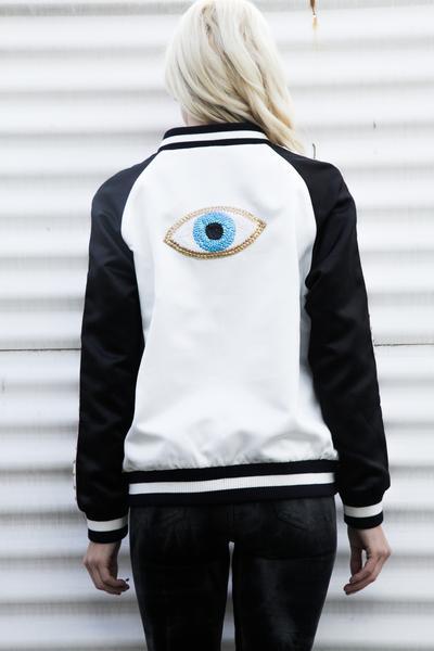 Jocelyn The Morrison Varsity Jacket