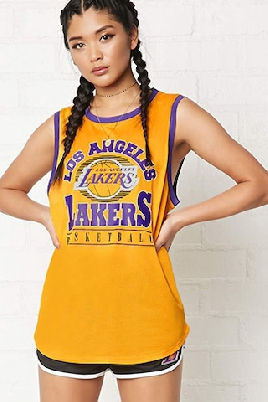 Forever 21 Lakers Graphic Tee