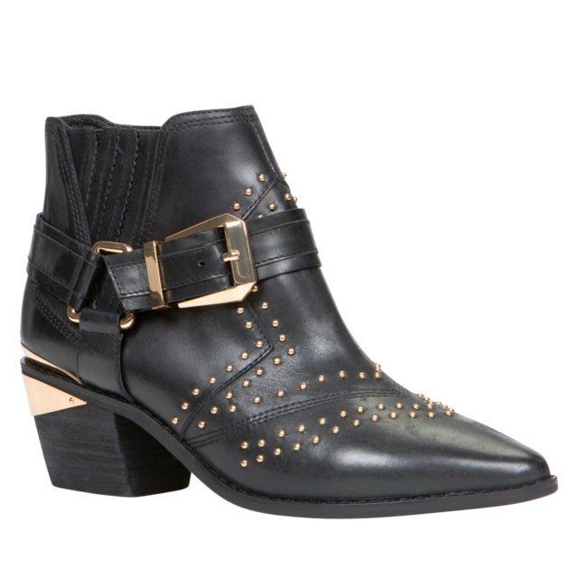 Aldo Bugiano Studded Ankle Booties