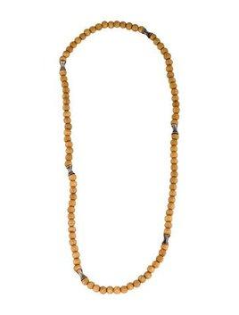 Robert Lee Morris Wooden Bead Necklace