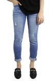 Peridot Boutique Mia Mid Rise Relaxed Skinny Jeans