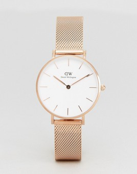 Daniel Wellington Gold Mesh Watch