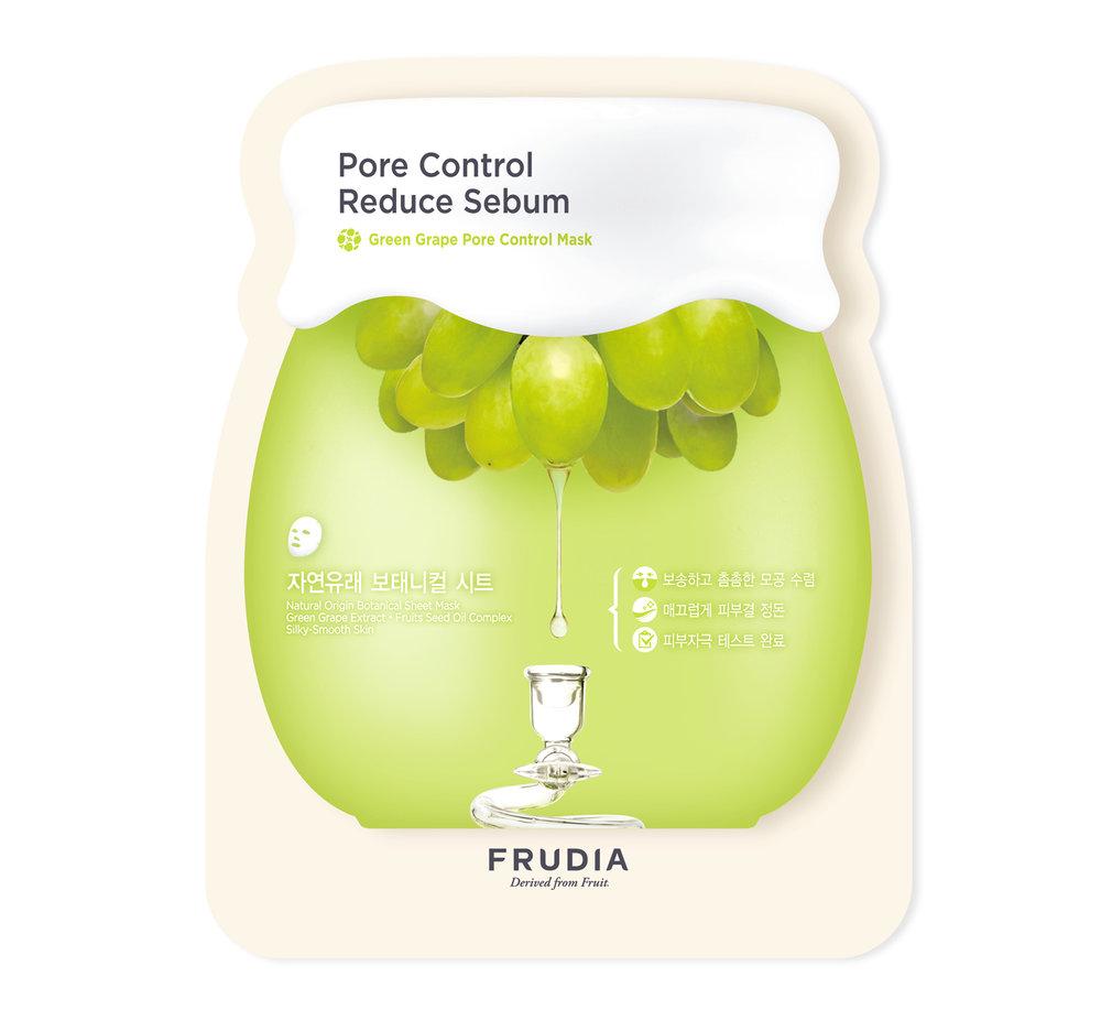 Frudia Green Grape Pore Control Sheet Mask