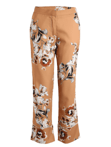 Zaful Floral Pants