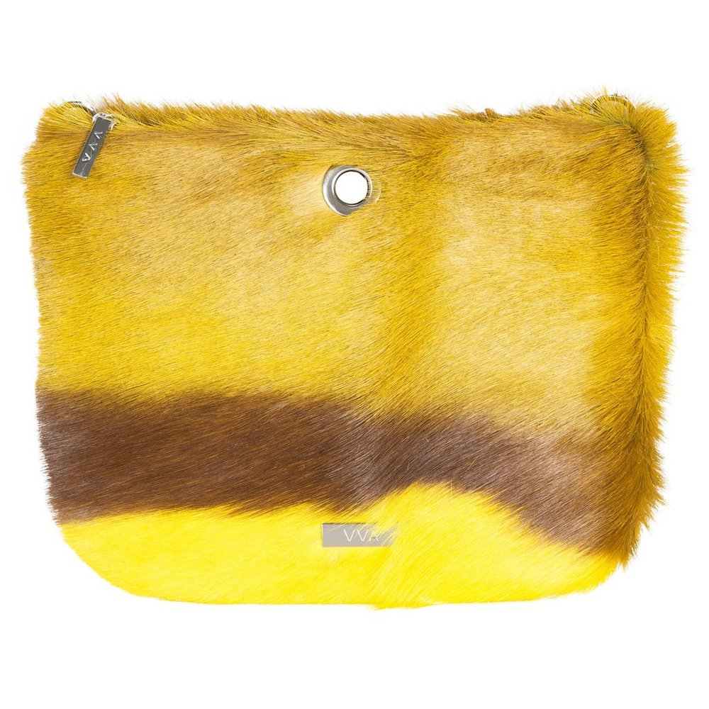 VVA Carlina Yellow Crossbody Bag