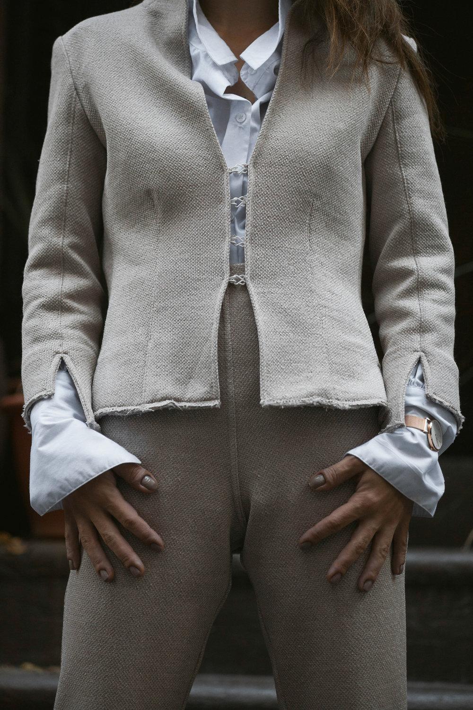 Liana Camba Power Suit