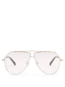 Stella McCartney Oversized Aviator Glasses