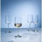 Villeroy & Boch Ovid 4-Piece White Wine Set