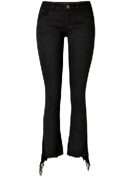 Rose Gal Black Jeans
