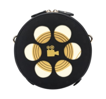 Vendula London Round Film Box Crossbody Bag