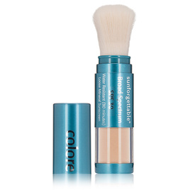 Colorescience® Sunforgettable Loose Mineral Powder Brush SPF 30 in Medium