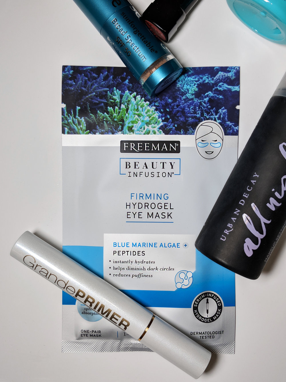 Freeman Beauty Infusion® Firming Hydrogel Eye Mask