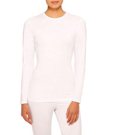 ClimateRight by Cuddl Duds Women's Stretch Microfiber Warm Underwear Longsleeve Top