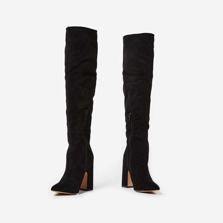 Ego OTK Black Boots