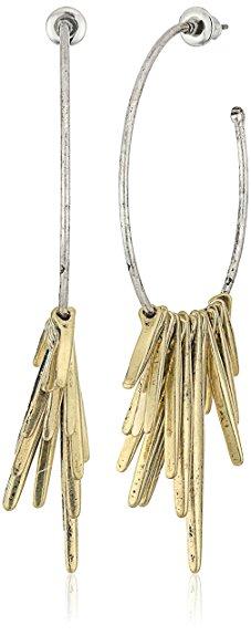 H&M Tribal Spike Drop Earrings