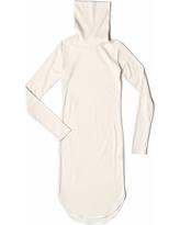 SAKU New York - High Neck Woven Dress Ivory
