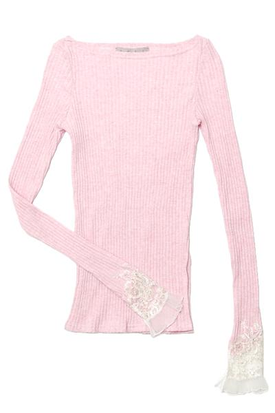 SAKU_SS18_Lace_trimmed_sleeve_jersey_top_pink_1-1_grande.jpg