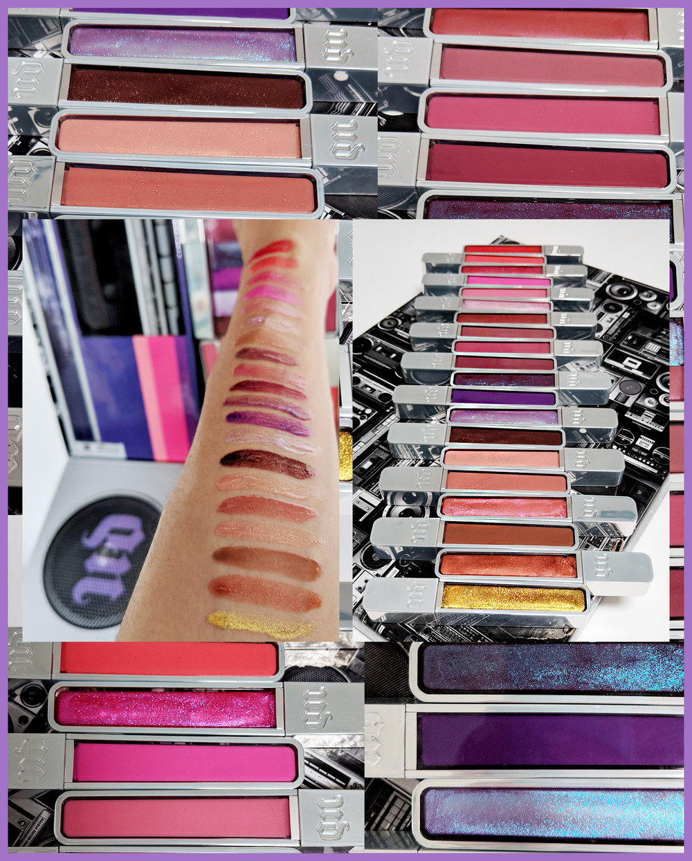 Urban Decay Hi-Fi Shine Ultra Cushion Lipglosses