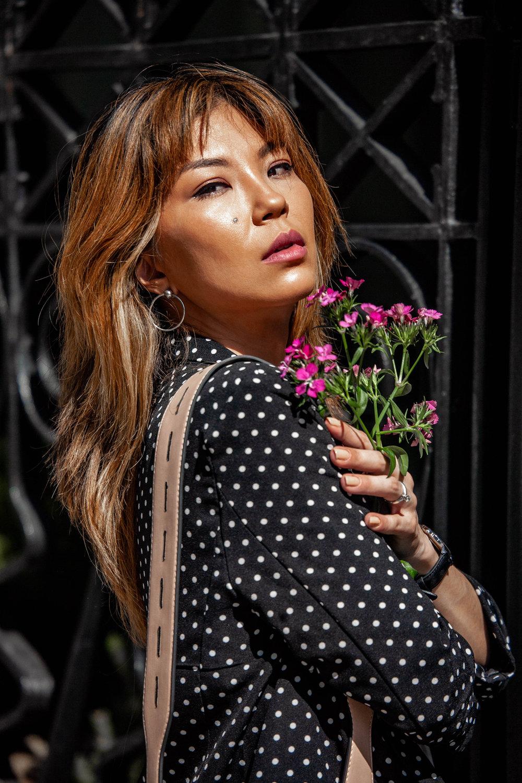 Portrait of Eurasian Model