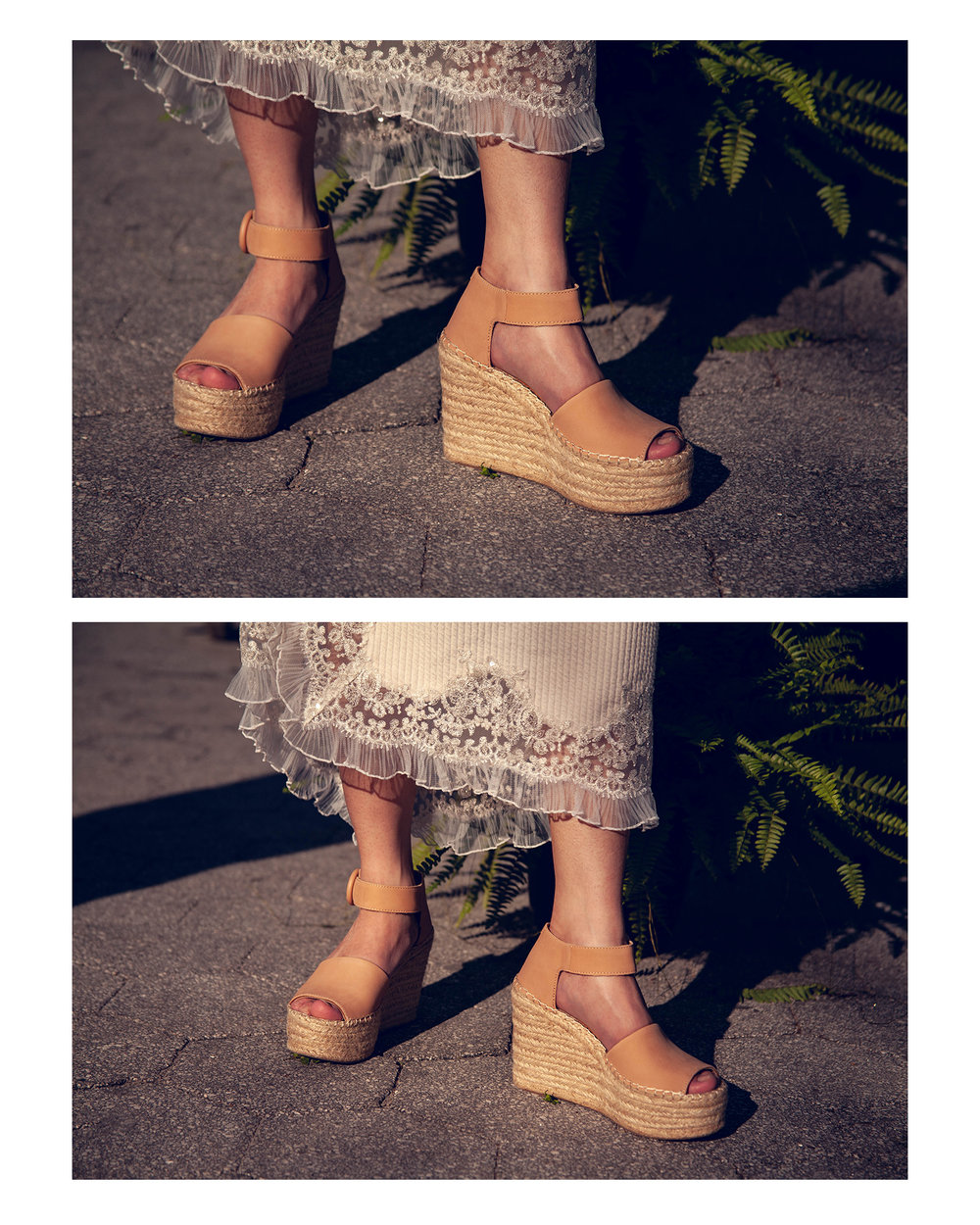 Marc Fisher espadrille wedge