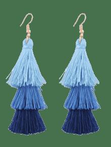 Zaful blue earrings