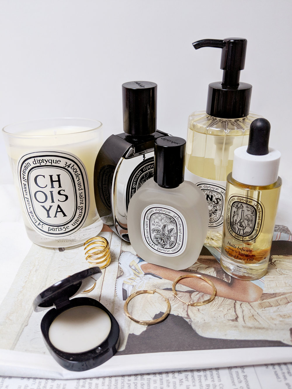 Diptyque beauty products
