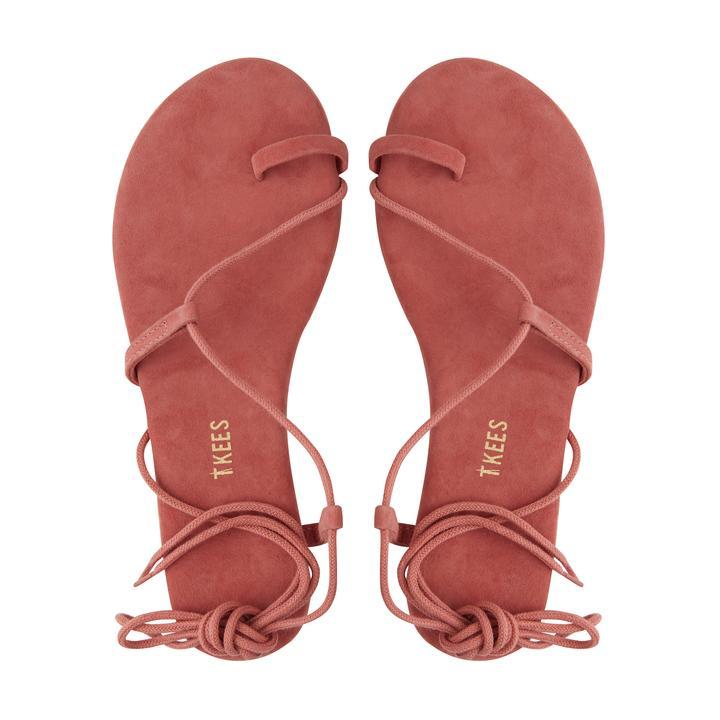 TKEES Jo Suede Georgia sandals