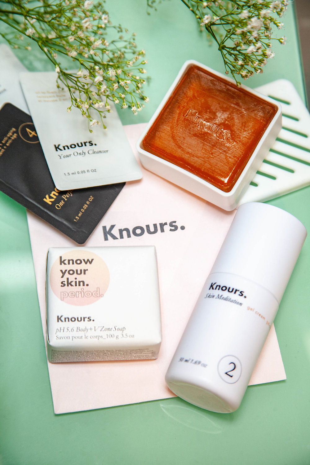 Knours skincare products