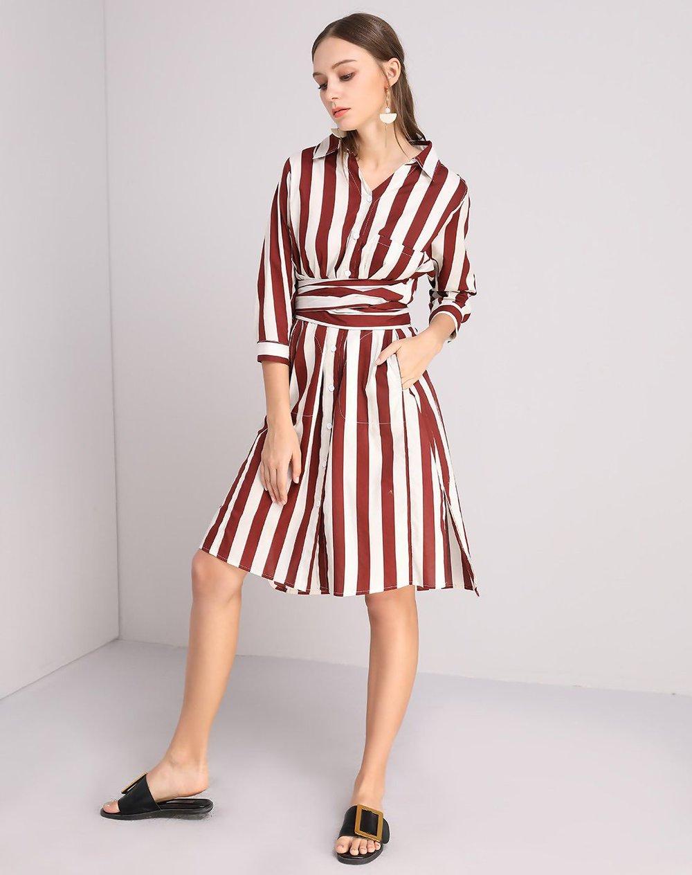 VIPshop shirt dress