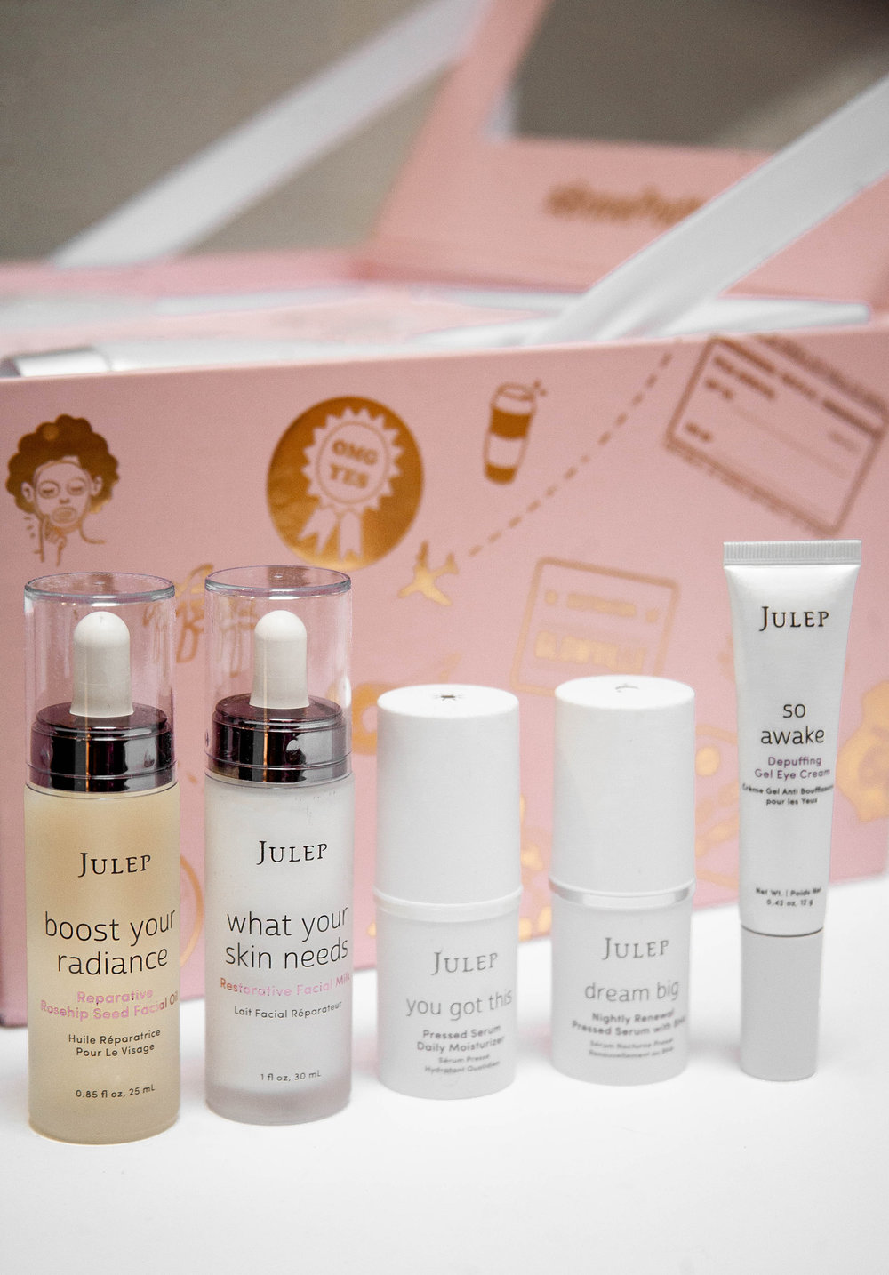 Julep Beauty skincare