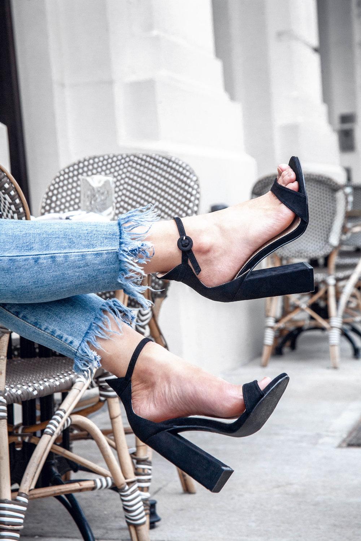 PLT slingback heels