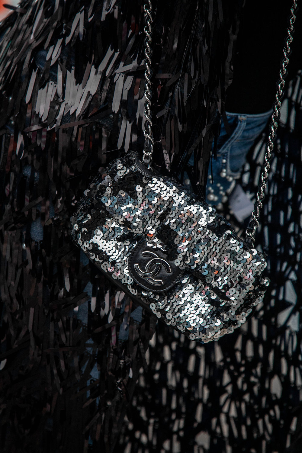 Chanel Sequin Bag