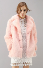 Chicwish faux fur coat
